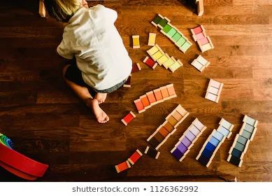 children-playing-learning-montessori-color-260nw-1126362992